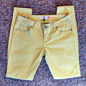 CABI Yellow Skinny Jeans - Size 4